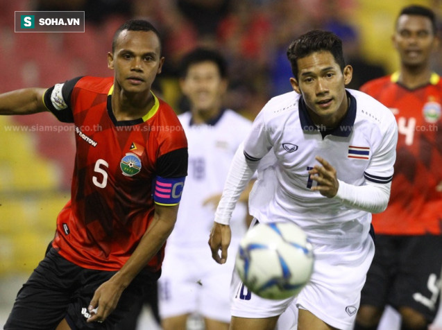 Suýt bất lực trước Timor Leste, U22 Thái Lan không khỏi khiến HLV Hữu Thắng mở cờ - Ảnh 2.