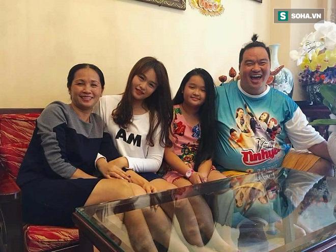 Ít ai ngờ diễn viên béo nhất showbiz Việt lại có con gái xinh đẹp đến vậy - Ảnh 2.