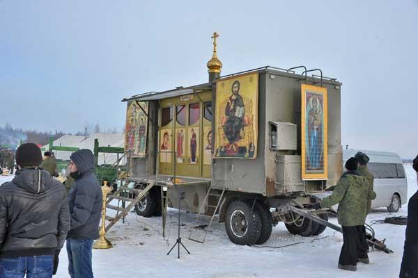 Đặc sắc nghi lễ ban phước cho vũ khí của Quân đội Nga - Ảnh 9.
