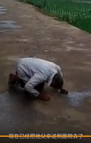 Cha già 90 tuổi quỳ rạp lạy con, bị mắng là súc sinh - Ảnh 2.