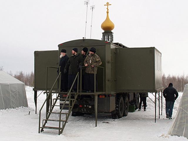 Đặc sắc nghi lễ ban phước cho vũ khí của Quân đội Nga - Ảnh 10.