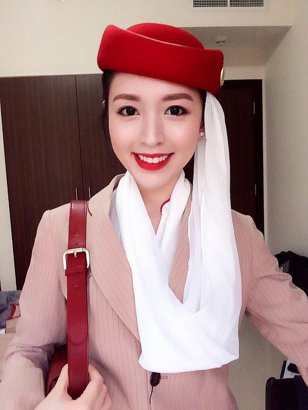 Phía sau vẻ sang chảnh của cô gái Việt làm tiếp viên hãng hàng không quốc tế - Ảnh 2.