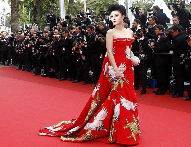 Sao Hoa Ngữ tại Cannes: Có thể đến nhưng không phải ai cũng được chú ý - ảnh 13