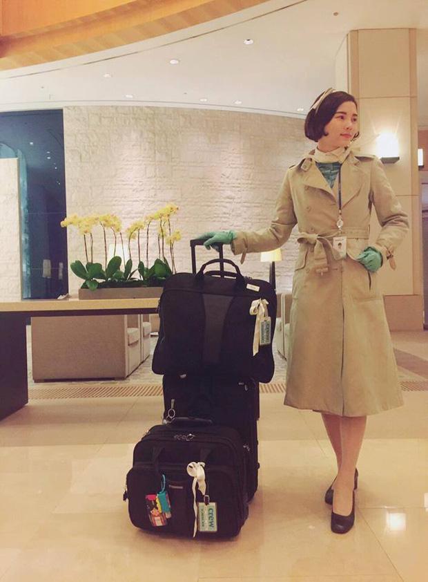 Phía sau vẻ sang chảnh của cô gái Việt làm tiếp viên hãng hàng không quốc tế - Ảnh 6.