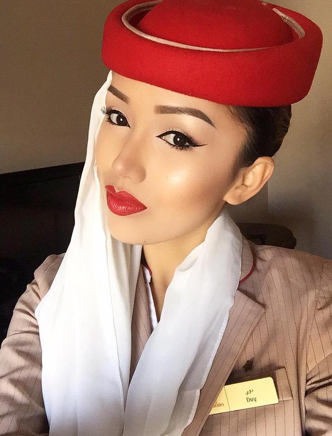 Phía sau vẻ sang chảnh của cô gái Việt làm tiếp viên hãng hàng không quốc tế - Ảnh 1.