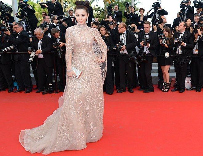 Sao Hoa Ngữ tại Cannes: Có thể đến nhưng không phải ai cũng được chú ý - ảnh 14
