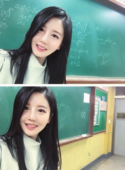 Cô giáo dạy toán luôn bị hiểu nhầm vì ngoại hình nổi bật - Ảnh 1.