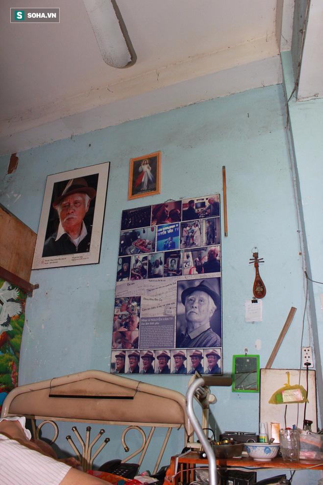 Nơi sống ẩm mốc, cô quạnh, không con cái của nhạc sĩ 92 tuổi - Nguyễn Văn Tý  - Ảnh 5.