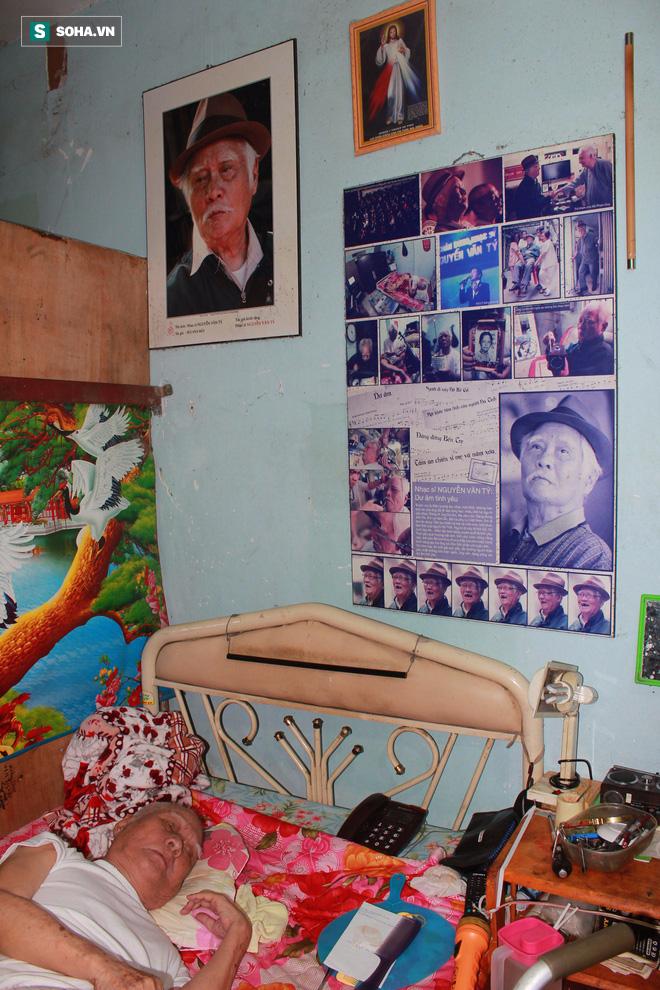 Nơi sống ẩm mốc, cô quạnh, không con cái của nhạc sĩ 92 tuổi - Nguyễn Văn Tý  - Ảnh 11.