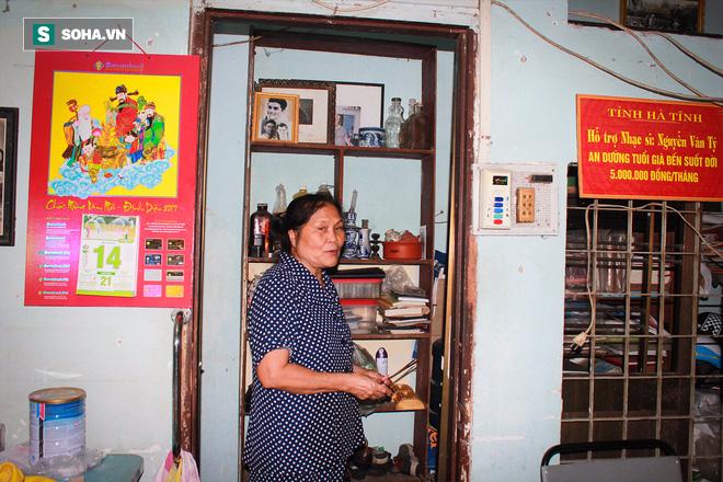 Nơi sống ẩm mốc, cô quạnh, không con cái của nhạc sĩ 92 tuổi - Nguyễn Văn Tý  - Ảnh 10.