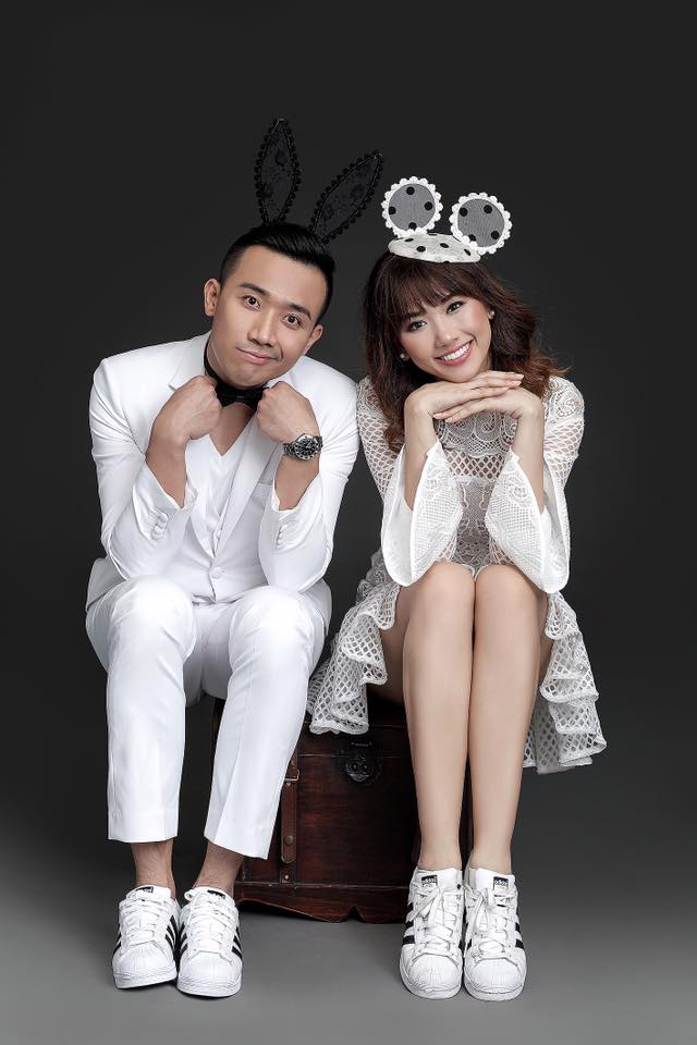 Trọn bộ ảnh cưới đẹp và sexy của Hari Won - Trấn Thành