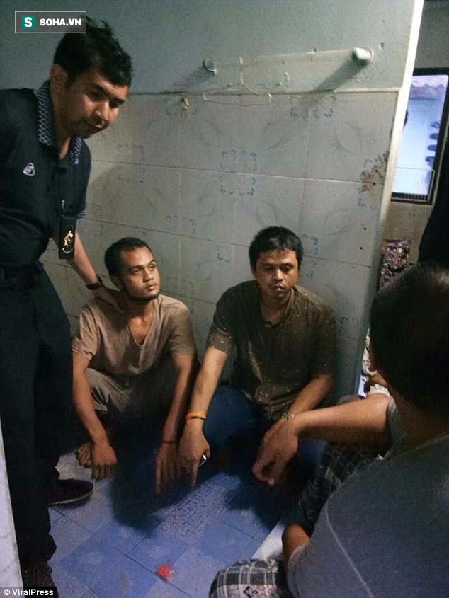 Bị cảnh sát truy lùng, dù đã trốn vào nơi kín đáo, nghi phạm bán ma túy vẫn bị tóm gọn - Ảnh 1.