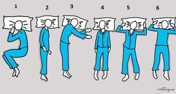 Bạn thường ngủ theo kiểu số mấy? Hãy chọn và xem kết quả - Ảnh 1.