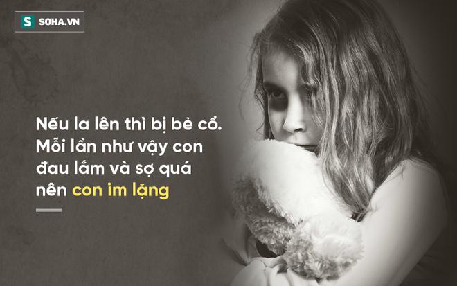 Bé gái bị bố và ông nội xâm hại: Mỗi lần như vậy con đau lắm và sợ quá nên con im lặng... - Ảnh 2.