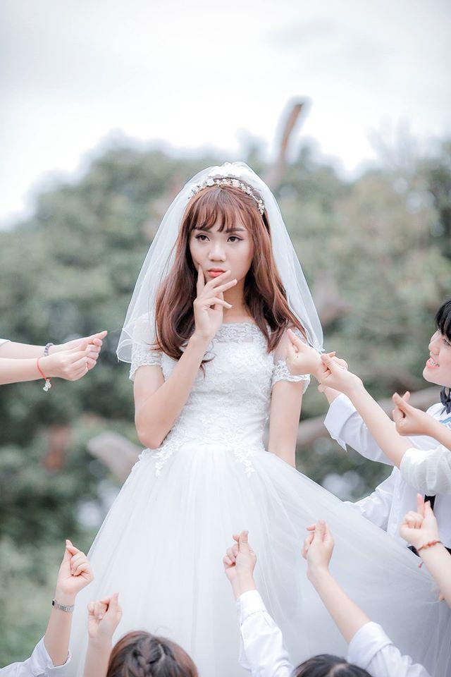 Sự thật về cô dâu duy nhất xuất hiện trong bộ ảnh kỷ yếu gây bất ngờ - ảnh 3