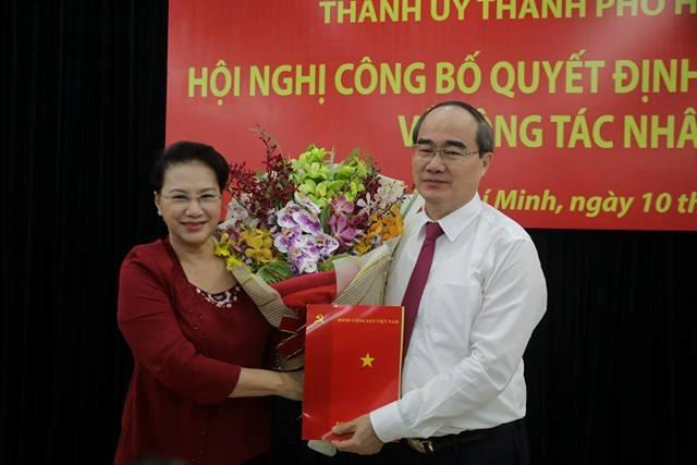 Ông Nguyễn Thiện Nhân làm Bí thư Thành uỷ TP.HCM - Ảnh 1.