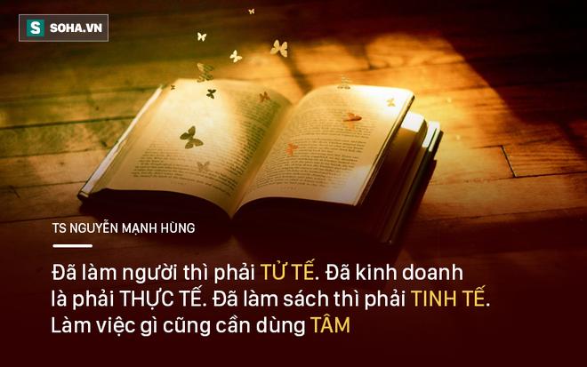 TS Nguyễn Mạnh Hùng: Tại sao tôi không thích được nhận hoa? - Ảnh 4.
