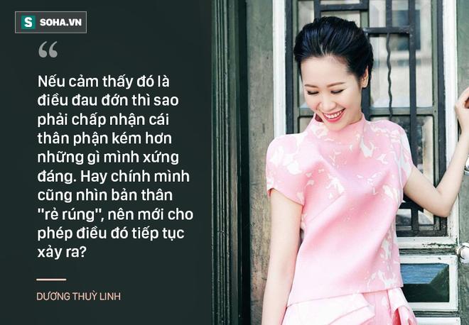 Hoa hậu Dương Thùy Linh: Người thứ 3 không xứng đáng để hạnh phúc! 3