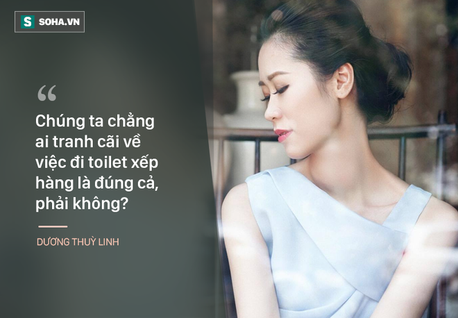 Hoa hậu Dương Thùy Linh: Người thứ 3 không xứng đáng để hạnh phúc! 1
