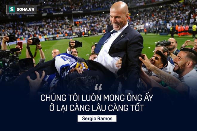 Zinedine Zidane đưa Real Madrid đến thành công bằng con đường vương đạo 3