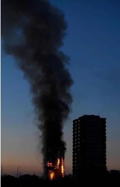 Anh: Trẻ em gào khóc gọi cha mẹ trong tòa tháp bị cháy kinh hoàng ở London - ảnh 3