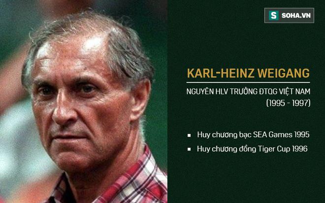 Vĩnh biệt HLV Karl Heinz Weigang - người bạn lớn của bóng đá Việt Nam 1