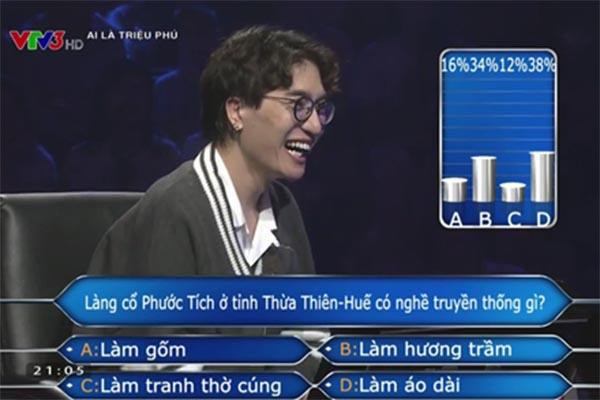 Nghệ sĩ Việt nào kiếm nhiều tiền nhất khi chơi Ai là triệu phú? - Ảnh 3.