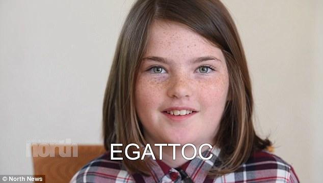 Hiếm gặp: Bé gái 10 tuổi có khả năng đọc ngược từ rất nhanh - Ảnh 3.