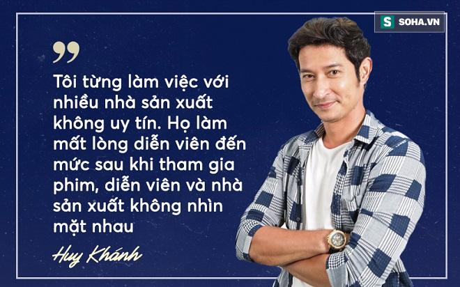 Huy Khánh: Nhiều diễn viên không còn muốn làm nghề vì bị nhà sản xuất quỵt tiền, đe dọa - Ảnh 3.