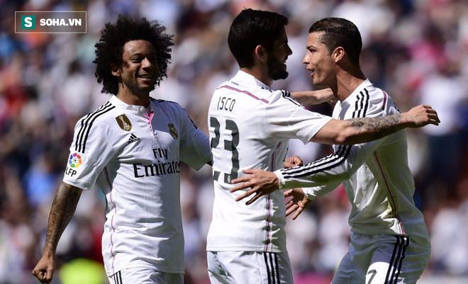 """Ronaldo """"mất hình"""", Real vẫn hủy diệt đối thủ bằng miếng đòn chớp nhoáng 1"""