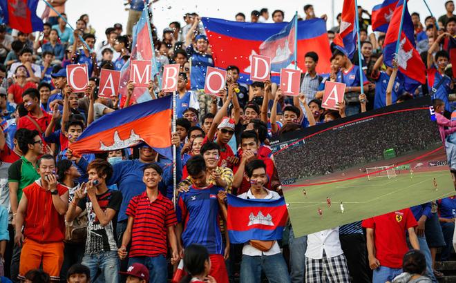 Campuchia nhận điều đáng buồn từ fan nhà dù chơi không tưởng trước Trung Quốc, Myanmar - Ảnh 3.