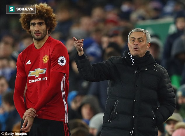 Mourinho sợ mất Fellaini, thách đội nào máu hơn Man United - Ảnh 1.