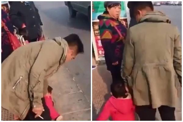 Bố thản nhiên giẫm đạp lên người con gái 2 tuổi chỉ để... giết thời gian - Ảnh 3.