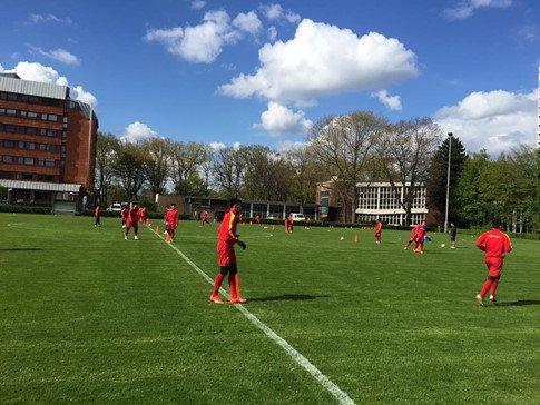 U20 Việt Nam chơi kiên cường nhưng vẫn dính đòn của đội bóng Đức - Ảnh 2.