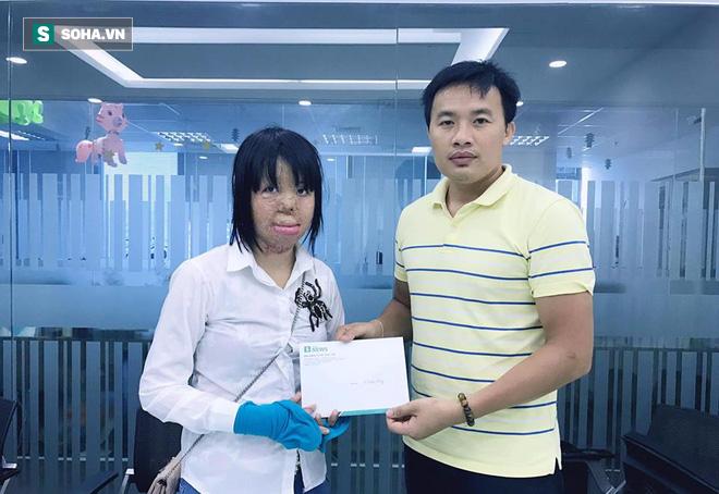 Hoa hậu Thùy Dung tiếp tục nhận được sự giúp đỡ của mạnh thường quân - Ảnh 1.