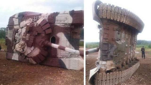 Nga than trời vì xe tăng bị mượn dùng như phá - Ảnh 2.