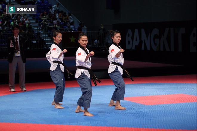 Trực tiếp SEA Games 29 ngày 26/8: Điền kinh, taekwondo liên tiếp gặt vàng, Việt Nam bỏ xa Singapore, Thái Lan - Ảnh 1.