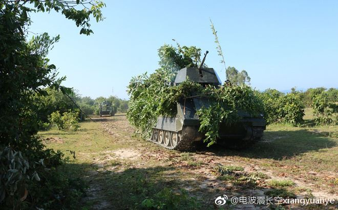 Hình ảnh diễn tập DT-17 của Việt Nam xuất hiện trên mạng Trung Quốc - Ảnh 1.