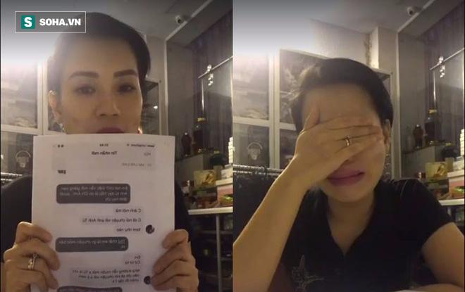 Vợ Xuân Bắc suy sụp, gầy sọp và khóc lóc livestream - ảnh 5