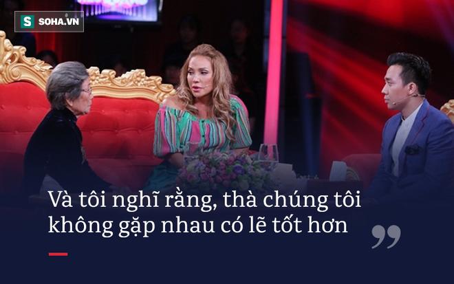 Sốc trước sự thật Thanh Hà gặp lại mẹ đẻ sau 30 năm: