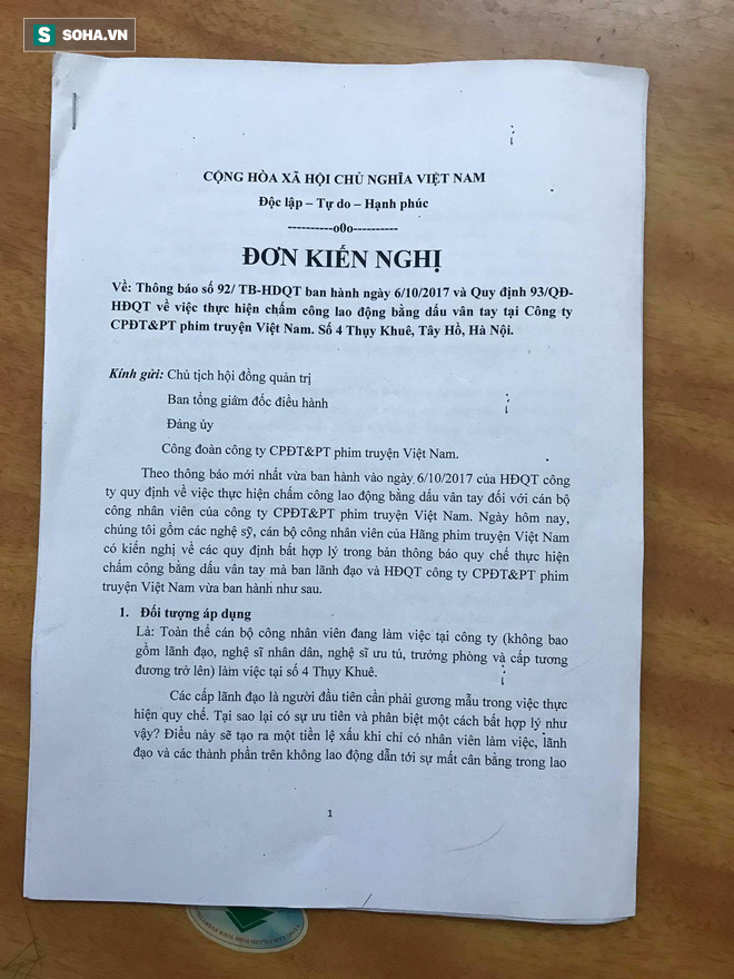 Nghệ sĩ của Hãng phim truyện VN bức xúc với quy định mới: Tôi không đến đây để xin tiền - Ảnh 2.
