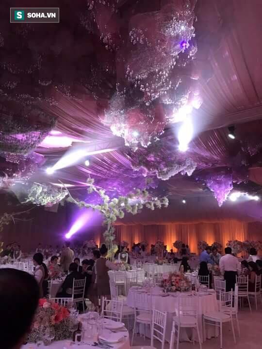 [TRỰC TIẾP] Toàn cảnh đám cưới Đặng Thu Thảo: Không gian cưới lộng lẫy như truyện cổ tích - Ảnh 11.