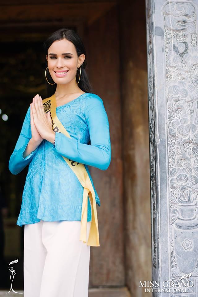 Nhan sắc gây sốc của nhiều thí sinh dự thi Hoa hậu Hoà Bình Quốc tế tại VN - Ảnh 4.