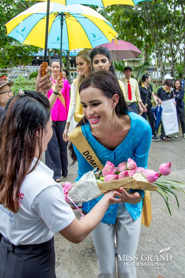 Nhan sắc gây sốc của nhiều thí sinh dự thi Hoa hậu Hoà Bình Quốc tế tại VN - Ảnh 5.