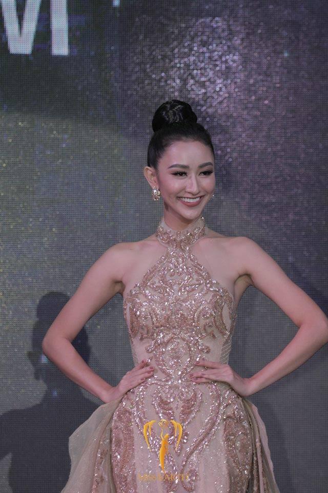 Hoa hậu Trái đất 2017: Hà Thu dẫn đầu bình chọn Gương mặt ăn ảnh - Ảnh 3.