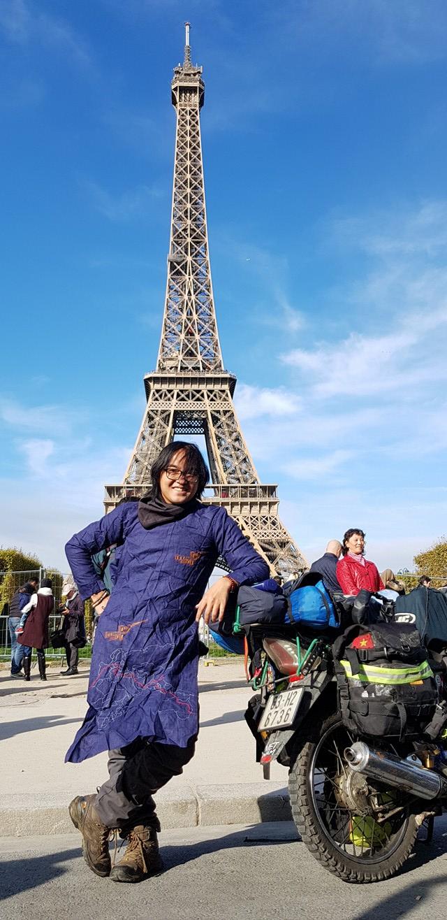 Chàng trai phượt bằng xe máy từ Việt Nam, vượt 20 nghìn km qua 23 quốc gia trong 150 ngày - Ảnh 1.