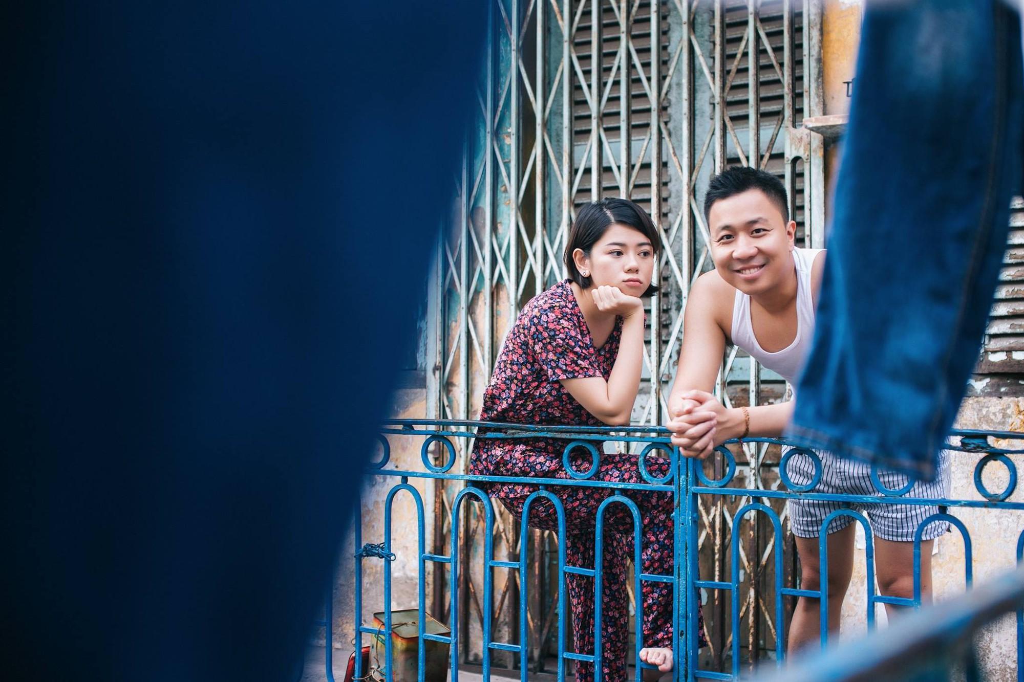 Chẳng ai như cặp đôi này, đi ăn sáng tiện thể chụp ảnh cưới vậy mà vẫn hút cả nghìn like