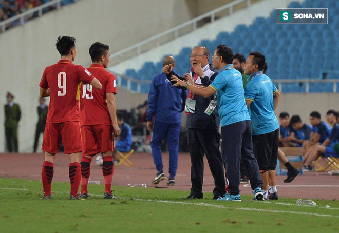 Việt Nam đoạt vé thành công, HLV Park Hang-seo ra mắt bằng trận hòa rụng tim vì sợ - Ảnh 4.