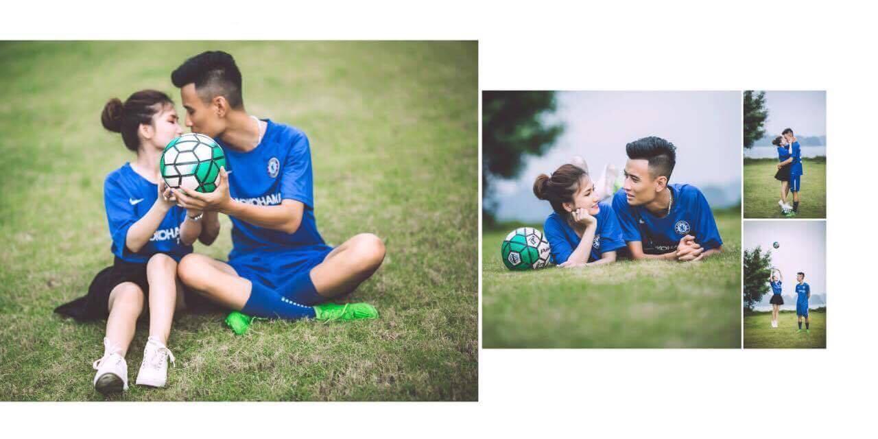 Thiệp cưới của cặp đôi cuồng Chelsea gây tò mò vì như vé xem bóng đá