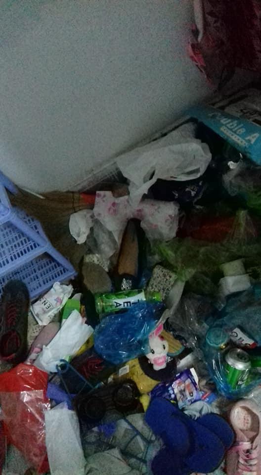Thuê ở 5 tháng rồi bỏ trốn, cô gái để lại nguyên một bãi rác dành tặng chú nhà trọ - ảnh 2